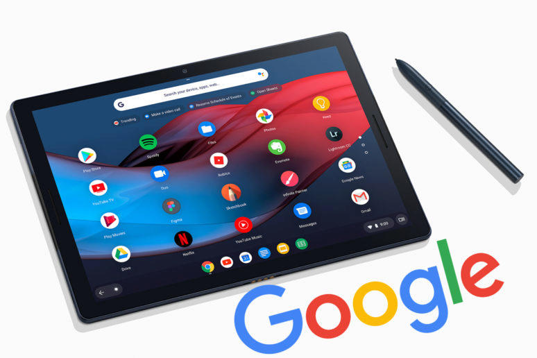 google tablety notebooky konec