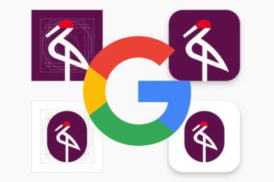 google tvary ikon