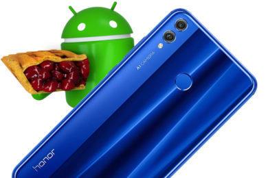 telefon honor 8x android 9 pie aktualizace