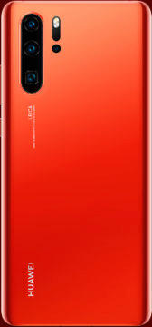 Huawei P30 Pro cervena barva
