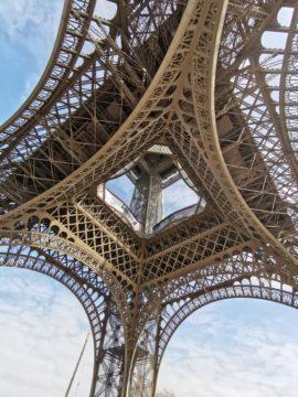 huawei p30 pro fotografie detail eiffelova věž