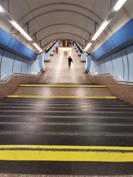 huawei p30 pro fotografie metro umělé osvětlení