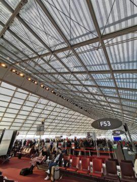 Huawei P30 Pro fotografie na letišti
