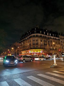 Huawei P30 Pro fotografie noční paříž