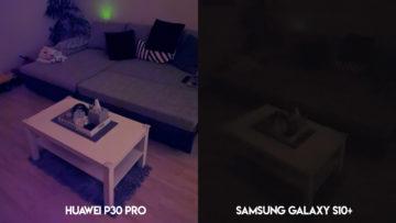 Huawei P30 Pro fotografie noční režim