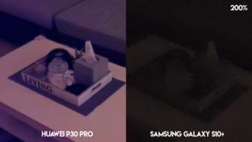 Huawei P30 Pro fotografie noční režim detail