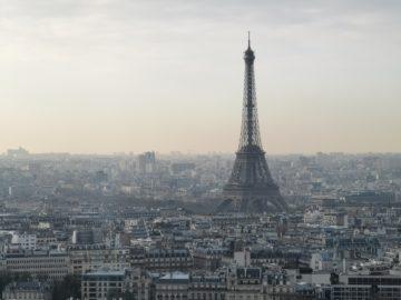 Huawei P30 Pro fotografie panorama paříž