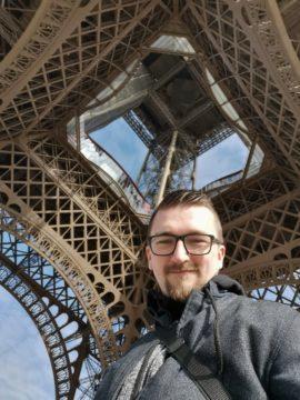 huawei p30 pro fotografie selfie eiffelova věž