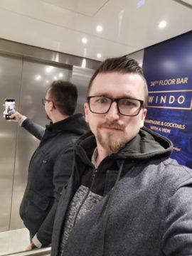 Huawei P30 Pro fotografie selfie maniak