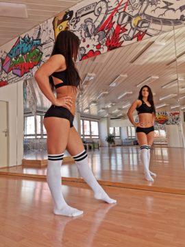 Huawei P30 Pro fotografie tanečnice