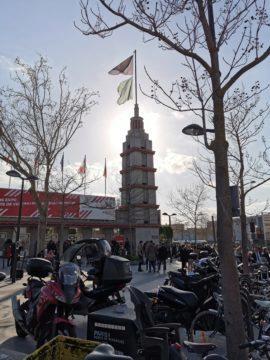 huawei p30 pro fotografie Věž - proti slunci