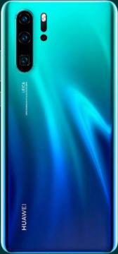 Huawei P30 Pro gradient zelenomodra