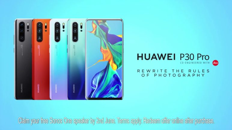 Introducing the Huawei P30 Pro