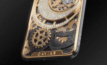 iphone xs caviar grand complications zadni strana
