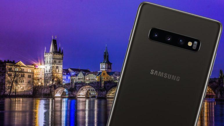 Jak fotí nový Samsung Galaxy S10? Noční Praha na fotografiích i videu