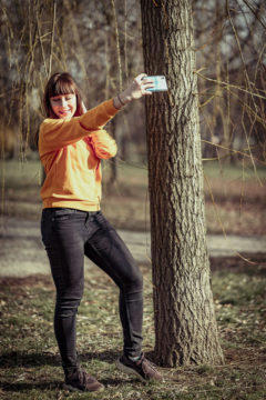 Jak fotit lepší selfie - zákulisí