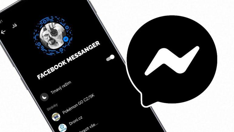 Jak nastavit tmavý režim pro Facebook Messenger? (návod) - dark mode