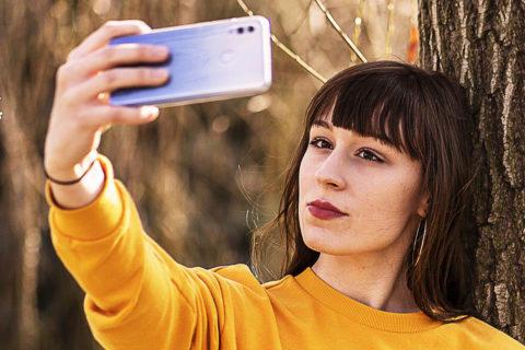 jak správně fotit selfie fotografie v telefonu