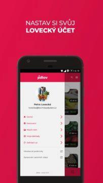 jídlov aplikace