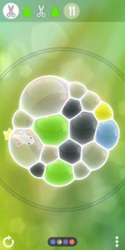Logické hry na telefon - Tiny Bubbles 04