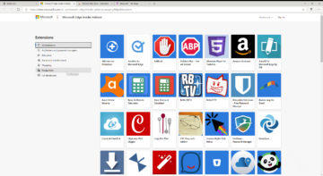 Microsoft edge chromium seznam rozsireni