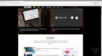 Microsoft edge chromium stranka