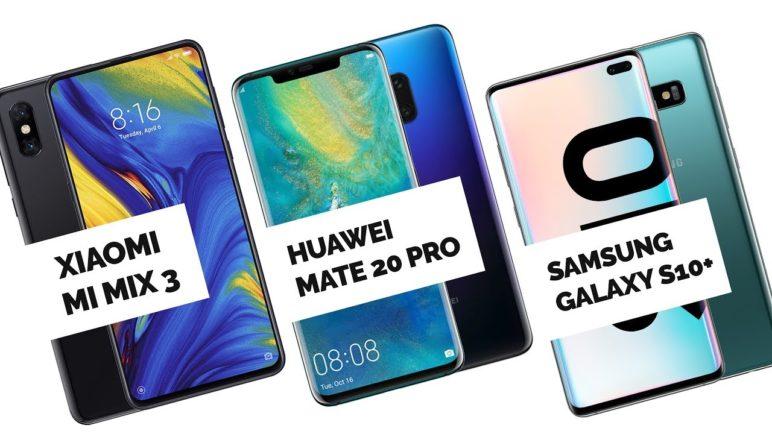 Noční fototest Samsung Galaxy S10+ vs Huawei Mate 20 Pro vs Xiaomi Mi Mix 3