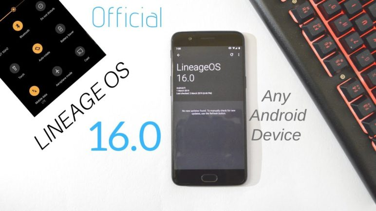 Official Lineage OS Android Pie Brings custom automatic update check & Dark Mode Calculator