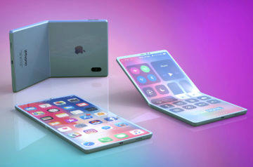 ohebny telefon apple render design