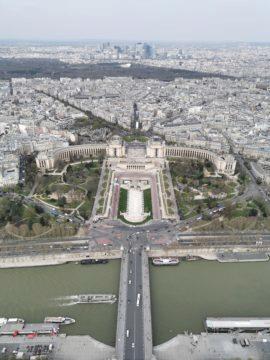 Paříž 1x zoom huawei p30 pro fotografie