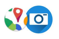 photo map android aplikace
