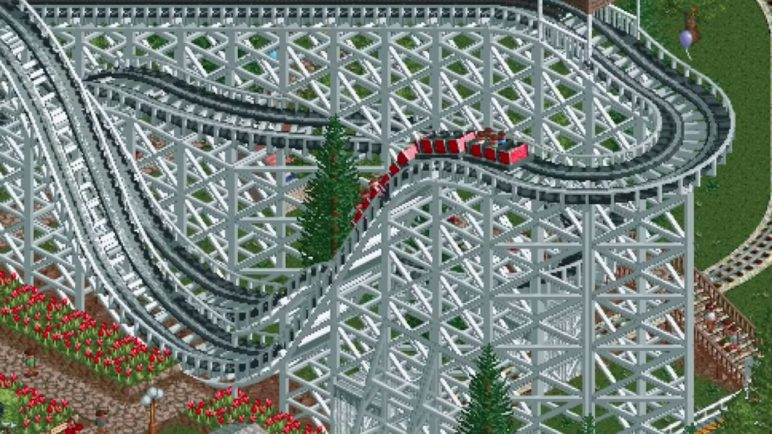 RollerCoaster Tycoon Classic Trailer