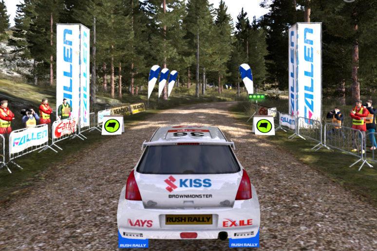 rush rally 3 android vydani zavodni hra