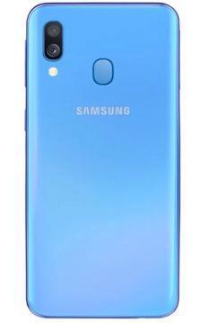 Samsung Galaxy A40 modrá barva
