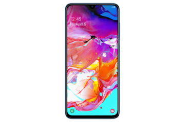 samsung galaxy a70 displej