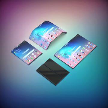 samsung galaxy fold 2 ohebny mobil