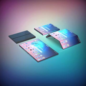samsung galaxy fold 2 ohebny telefon design