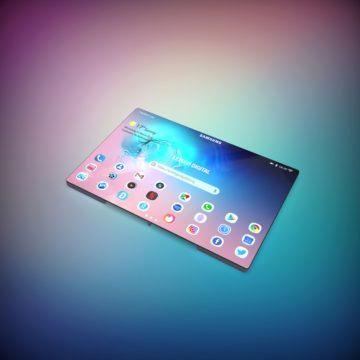 samsung galaxy fold 2 ohebny telefon velky displej