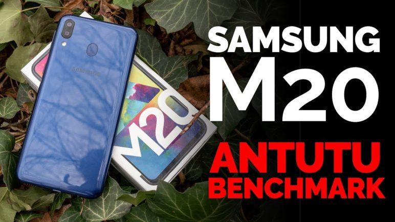 Samsung Galaxy M20 AnTuTu benchmark