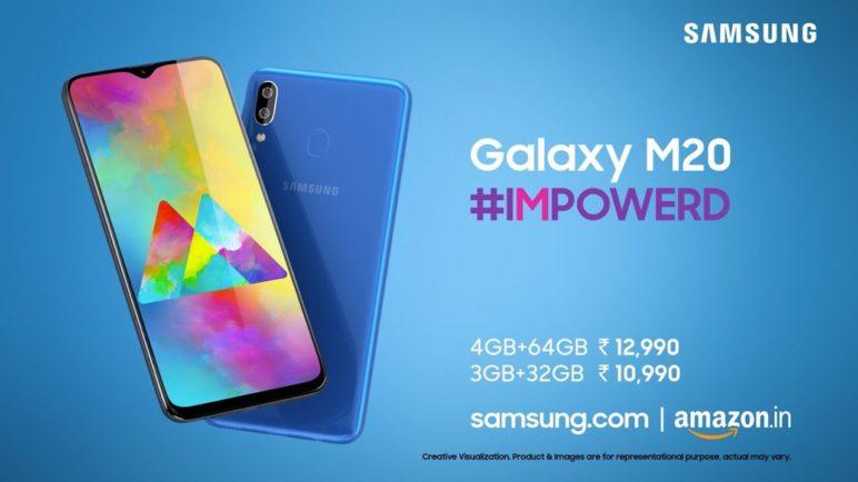 Samsung Galaxy M20: #IMPOWERD