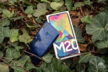 Samsung Galaxy M20 krabicka