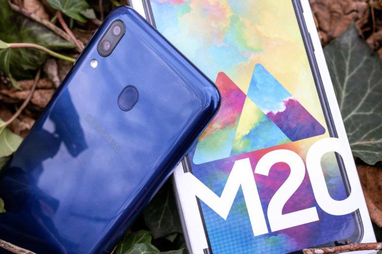 samsung galaxy m20 recenze