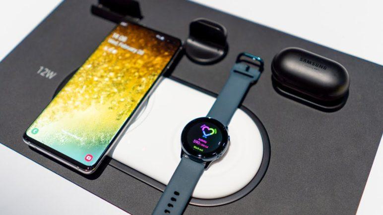 Samsung Galaxy S10, Galaxy Watch Active a Galaxy Buds: První pohled přímo z Prahy