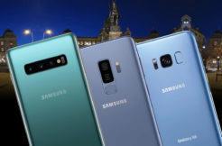 samsung galaxy S10 vs S9 vs S8 nocni fototest