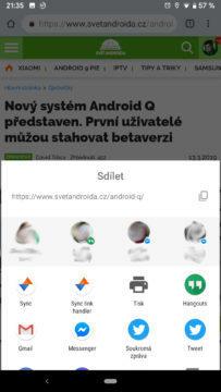 sdileni android q