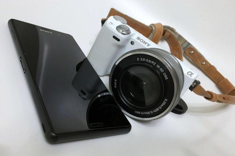 sony fotoaparat fotomobil