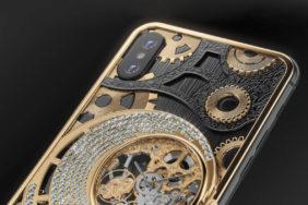 specialni iphone xs mechanicke hodiny