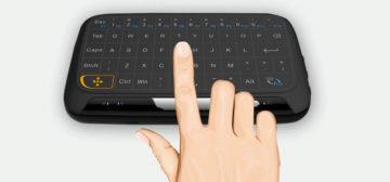 touchpad a klávesnice