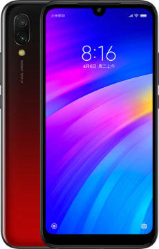 xiaomi redmi 7 design