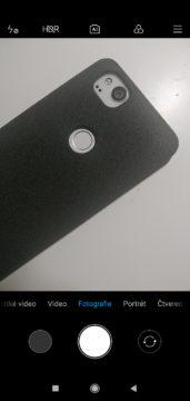 Xiaomi Redmi 7 MIUI fotoaparat